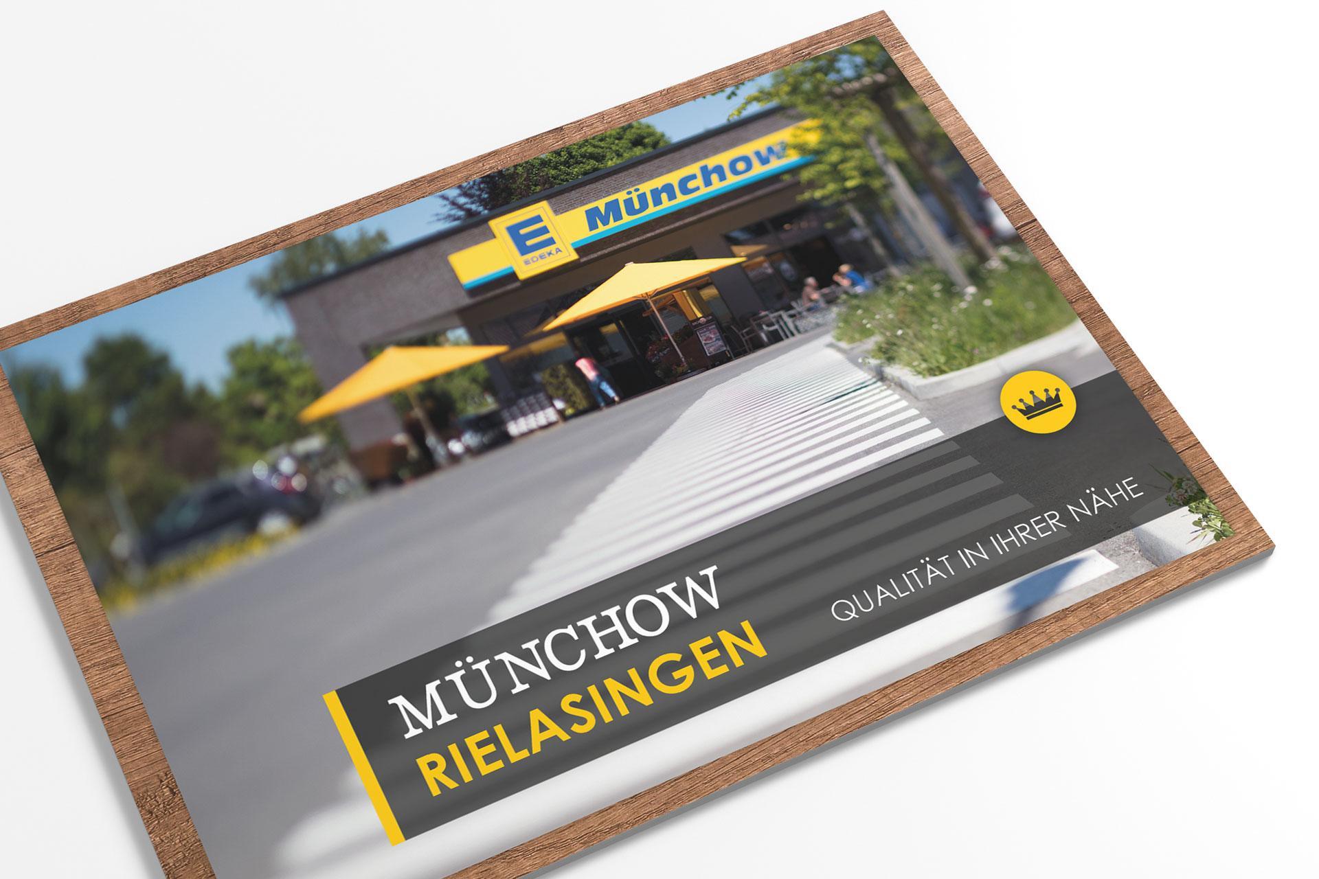 image broschre fr die mnchow mrkte - Imagebroschure Beispiele